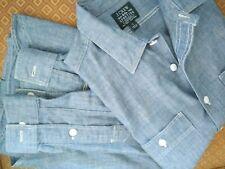 J crew Men's Shirts Chambray Sz Small