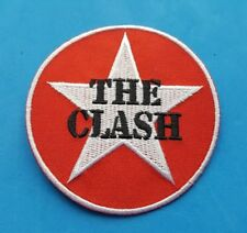PUNK ROCK HEAVY METAL MUSIC FESTIVAL SEW ON / IRON ON PATCH:- THE CLASH (a)