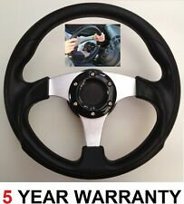 300MM STEERING WHEEL AND SNAP OFF BOSS KIT HUB  FITS FORD FIESTA AND FORD FOCUS