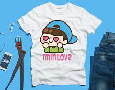 I'm In Love Boyfriend Girlfriend FUNNY Novelty T SHIRT Tee