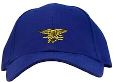 U.S. Navy Seal Team Logo Embroidered Baseball Cap - Available in 7 Colors - Hat