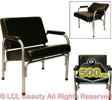 Extra Wide Auto Recline Shampoo Chair Styling Hair Barber Beauty Salon Equipment