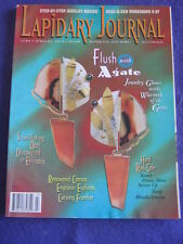 LAPIDARY JOURNAL - FLUSH WITH AGATE - July 1996 v 50 # 4