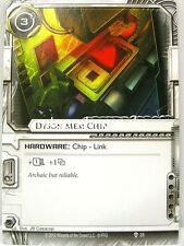 Android Netrunner LCG - 1x Dyson Mem Chip  #028 - Trace Amount