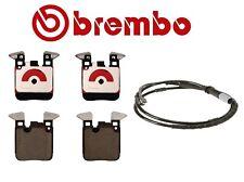 For BMW F22 F23 F30 F32 F33 F34 Rear Ceramic Brake Pad Set with Sensor Brembo