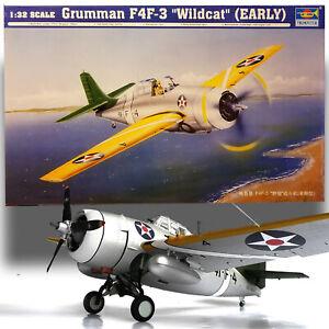 TRUMPETER 1/32 GRUMMAN F4F-3 WILDCAT (EARLY)