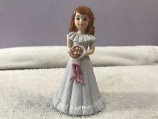 Enesco Figurine Growing Up Birthday Girls Age 8 Brunette Po3306