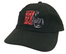 The Scorpions Humanity Tour 2007 Embroidered Black Baseball Hat Cap New Official