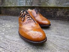 CHEANEY / CHURCH BROGUE – BROWN / TAN  - UK 7.5 – TURNER - EXCELLENT CONDITION