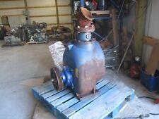 Gorman Rupp Self Priming Pump Notag T Series Pump Rotates Rough Parts Only