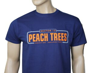 Judge Dredd (1995) inspired mens film t-shirt - Peach Trees