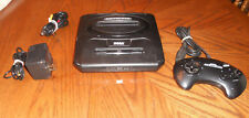 Sega Genesis 2 Launch Edition Black Console