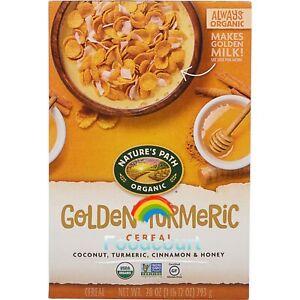 Nature's Path Organic Golden Turmeric Cereal 28 oz