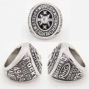 1952 Rocky Marciano Heavyweight Boxing Championship Rings Men Jewelry SIZE 13.00