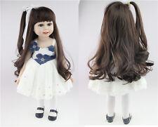 "18"" Silicone Vinyl Reborn Baby Newborn Long Hair Girl Dress Lifelike Doll"