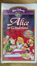 Alice in Wonderland VHS Video Walt Disney Masterpiece Collection FACTORY SEALED