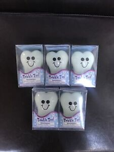 Twinkle Toof by Toysmith, Glow-in-the-Dark Tooth Fairy Box, Set of 5 Item 9102