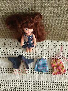 2002 Mattel Kelly Club #47608 Kelly Barbie Doll Dresses and Jacket 5 Pieces