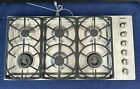 Miele Cooktop, KM344LP Stainless Steel 42 in. Liquid Propane, 6 Burner Grate photo