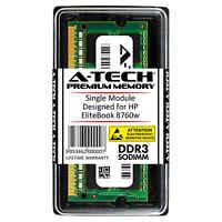 A-Tech 8GB DDR3 1600 MHz PC3-12800 1.35V 2Rx8 Memory RAM for HP EliteBook 8760w