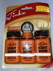 Tink's Lure and Cover Scent Dispersal Scent Bomb deer hunting 3 pack Free Ship