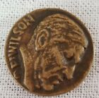 """1918 WILSON Coin Medal RIGHT BEFORE MIGHT 1.25"""""""