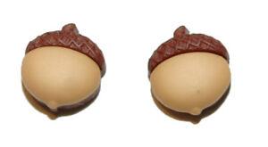 CUTE FALL ACORN STUD EARRINGS (S410)