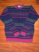 XL Cosby, Biggie Smalls Sweater Coogi Style, Ugly Christmas/Halloween