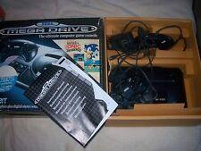 Sega Mega Consola Negra Caja, Drive