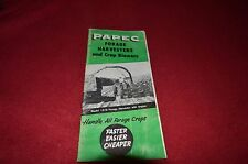 Papec Forage Harvesters & Crop Blowers Dealers Brochure YABE6