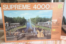 4000 Supreme Jigsaw Puzzle The Grand Cascade Leningrad USSR by Waddingtons NIB