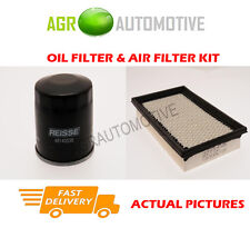 PETROL SERVICE KIT OIL AIR FILTER FOR MAZDA 626 2.0 116 BHP 1999-02