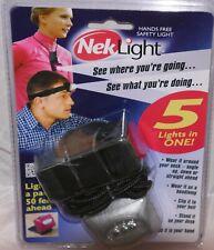 Neklight Personal Safety Light Wear Around Neck or Head