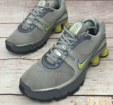 ad044533cfde85 Nike Shox 2007 Womens Sz 7 Running Shoes Silver Gray Yellow 316874-031