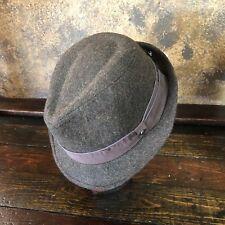 d9e6d3ed286d46 Mens NEW STETSON Wool Blend STETSON Fedora Hat ~ NWT ~ Size L / XL
