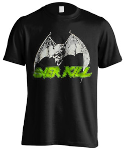 T-Shirt Overkill Classic Bat Skull 106726 #