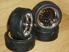 TRAXXAS MINI E-REVO / SLASH 1/16 SCALE RC 1.9 ON-ROAD WHEELS/TIRES*body-1/10/12
