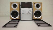 Panasonic SA-PM193 AM/FM Stereo CD Cassette Bi-Wired Compact Hi-Fi System LOOK
