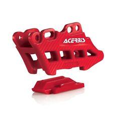 Acerbis Chain Guide Block 2.0 Red Honda Crf250x Crf450x Crf250r Crf450r 2007-16