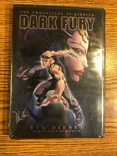 The Chronicles of Riddick Dark Fury Dvd Vin Diesel 2004 Animated Sci-Fi Anime