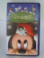 "VHS "" TOPOLINO - STREPITOSO NATALE "" WALT DISNEY  (VHS-1)"