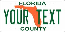 Florida 1978 Plates Tag Personalized Auto Car Custom VEHICLE OR MOPED