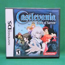 Castlevania: Dawn of Sorrow (Nintendo DS, 2005) *Factory Sealed Mint* NTSC US