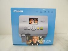 Canon 3501B001,SELPHY CP780 Portable Color Dye-Sublimation Photo Printer  Silver