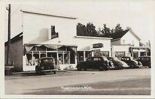 NE Roscommon MI RPPC 1930s COOL VIEW BEANIES BAR McCredies Grocery Store & MORE!