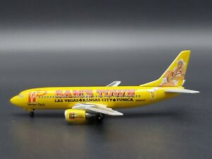 Herpa Wings 1:400 Western Pacific B737-300 Sam's Town Limited Edition Model CC