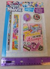 My Little Pony Stationary Set 5 pcs Pencil Ruler UK Merchandise Shipping from US