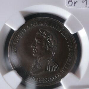 WE-11C2 NGC AU-58 Peninsular token Ciudad Madrid Wellington Canada Breton 986