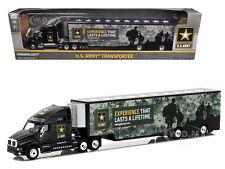 KENWORTH T2000 HAULER U.S. ARMY HOBBY EXCLUSIVE 1/64 DIECAST GREENLIGHT 29882