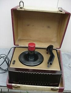 Beautifully nice restored RCA 45-EY-2 45rpm Record Player-with the original case
